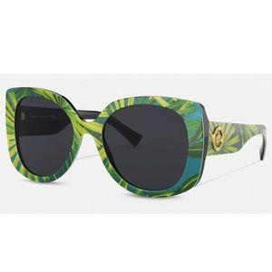 VERSACE Jungle Print Medusa Sunglasses - NWT